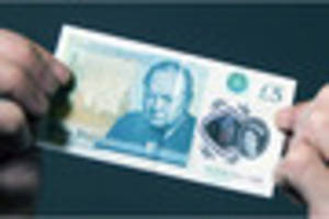 this is how to spot a fake £5 note as bank of england...