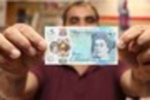 how to tell if your £5 note is a fake amid bank of england...