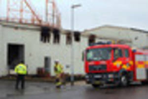 Skegness abattoir fire is being treated as suspicous