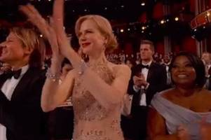 Nicole Kidman's 'weird' clapping at the Oscars is confusing everyone