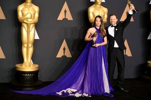 A former Cardiff University student won an Oscar - the only British winner at last night's awards