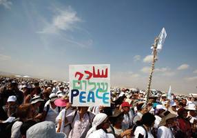 peace proposals offered by activists on right and left