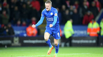 Watch: Vardy, Drinkwater score great goals for Leicester vs. Liverpool