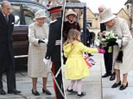 the queen and prince phillip visit charterhouse