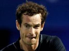 andy murray wins in straight sets at dubai championships