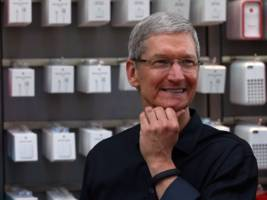 Apple CEO Tim Cook: 'We know that Apple could only exist in the United States' (APPL)