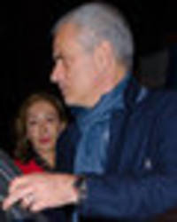 snapped: jose mourinho was in london last night… this is what he was doing