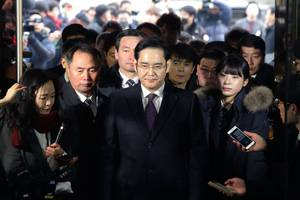 Samsung heir will be indicted for bribery, embezzlement, perjury, and hiding criminal profits