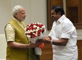 Release drought relief funds: Tamil Nadu chief minister Palaniswami to PM Narendra Modi