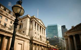hogg is named new deputy governor at bank of england