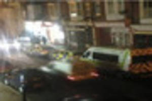 this is why an indian restaurant in herne bay was cordoned off by...