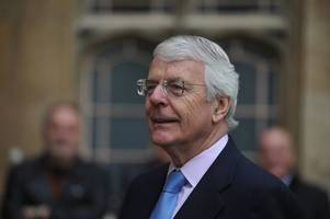 sir john major called 'bitter' for criticism of brexit strategy