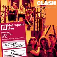 the orwells, our girl to play metropolis live