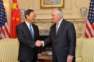 top u.s., chinese diplomats meet to discuss relationship