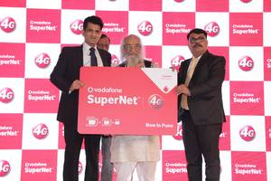 vodafone supernettm 4g launched in pune