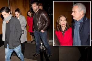 manchester united boss jose mourinho celebrates efl cup win by heading out for family meal