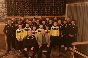 priestfield boxing club given sponsorship from lisini pubs