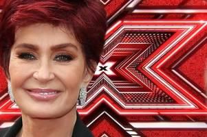 sharon osbourne could be out of the x factor after she's struck down by shock health crisis