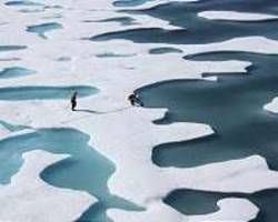 air pollution may have masked mid-20th century sea ice loss
