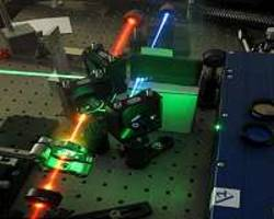 miniature device is 3 times more efficient in generating new colors of laser pulses