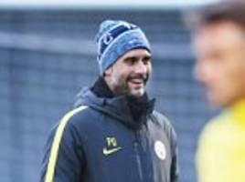 Man City boss Guardiola says 'career speaks for itself'
