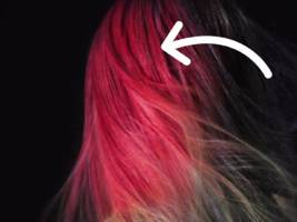 this hair dye actually changes color based on the temperature
