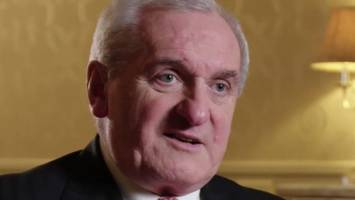 bertie ahern warns of danger of 'hard' ni border