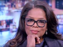 president oprah? never occurred to her but now she's 'thinking'