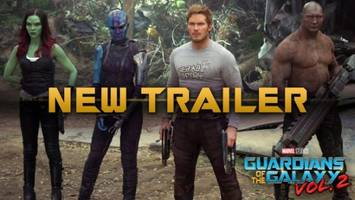 new 'guardians of the galaxy vol. 2' trailer plays with old tech