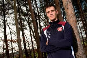 hearts new boy andraz struna insists it's wrong to say tynecastle squad don't care and they are up for the fight