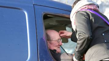 ash wednesday drive-thru at galway church 'very dignified'
