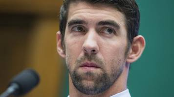 michael phelps says he never faced a completely clean international field