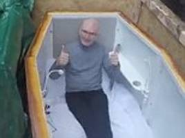 former belfast drug addict buried alive in a coffin