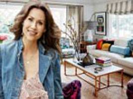 minnie driver opens up her 'english gypsy' inspired home