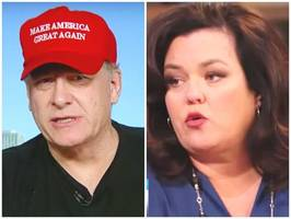 'the sheer volume of poop…you have spewed': curt schilling and rosie o'donnell mix it up on twitter