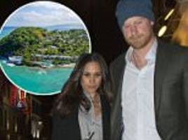 meghan markle set to meet prince harry's 'crew' in jamaica