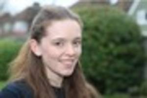 watch how this croydon schoolgirl reacts to being in a bath full...