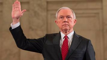 trump attorney general jeff sessions urged to step aside from russia probe