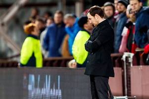 hearts boss ian cathro says only unity at tynecastle can stop wretched run