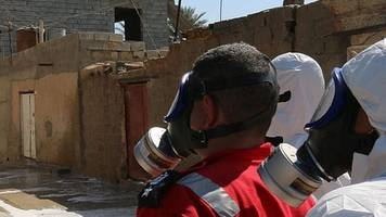 mosul: suspected chemical weapons injure seven, says red cross