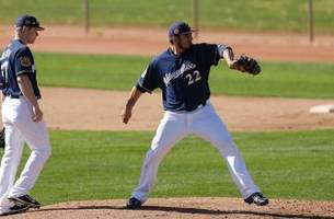 garza throws perfect inning in brewers' 6-2 loss to seattle