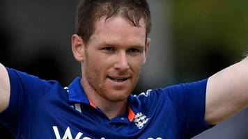west indies v england: eoin morgan century sets up win for tourists in first odi