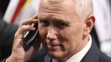 mike pence accused of hypocrisy for hacked private emails