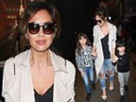 myleene klass takes her daughters to see aladdin