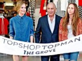 green doubles 'topshop' pension payout to £50 million...