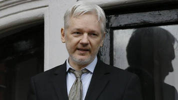 ecuador's presidential front-runner: we will ask assange to leave our embassy