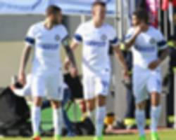 cagliari 1-5 inter milan: perisic leads dominant inter