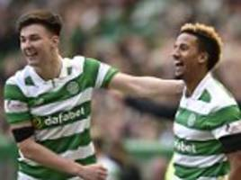 celtic 4-1 st mirren: hoops survive scare to reach semis