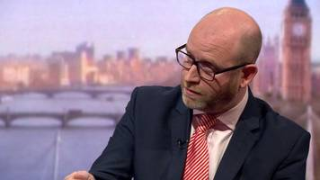 paul nuttall: ukip 'mess' will take time to sort out