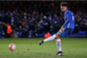 peterborough united striker on the verge of lincoln city move,...
